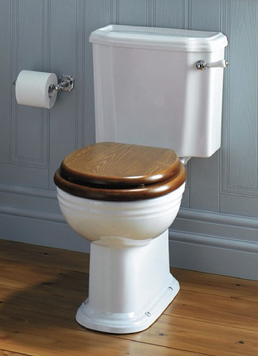 toilette belgra mit aufsitzendem sp lkasten von replicata ohne toilettensitz replikate. Black Bedroom Furniture Sets. Home Design Ideas