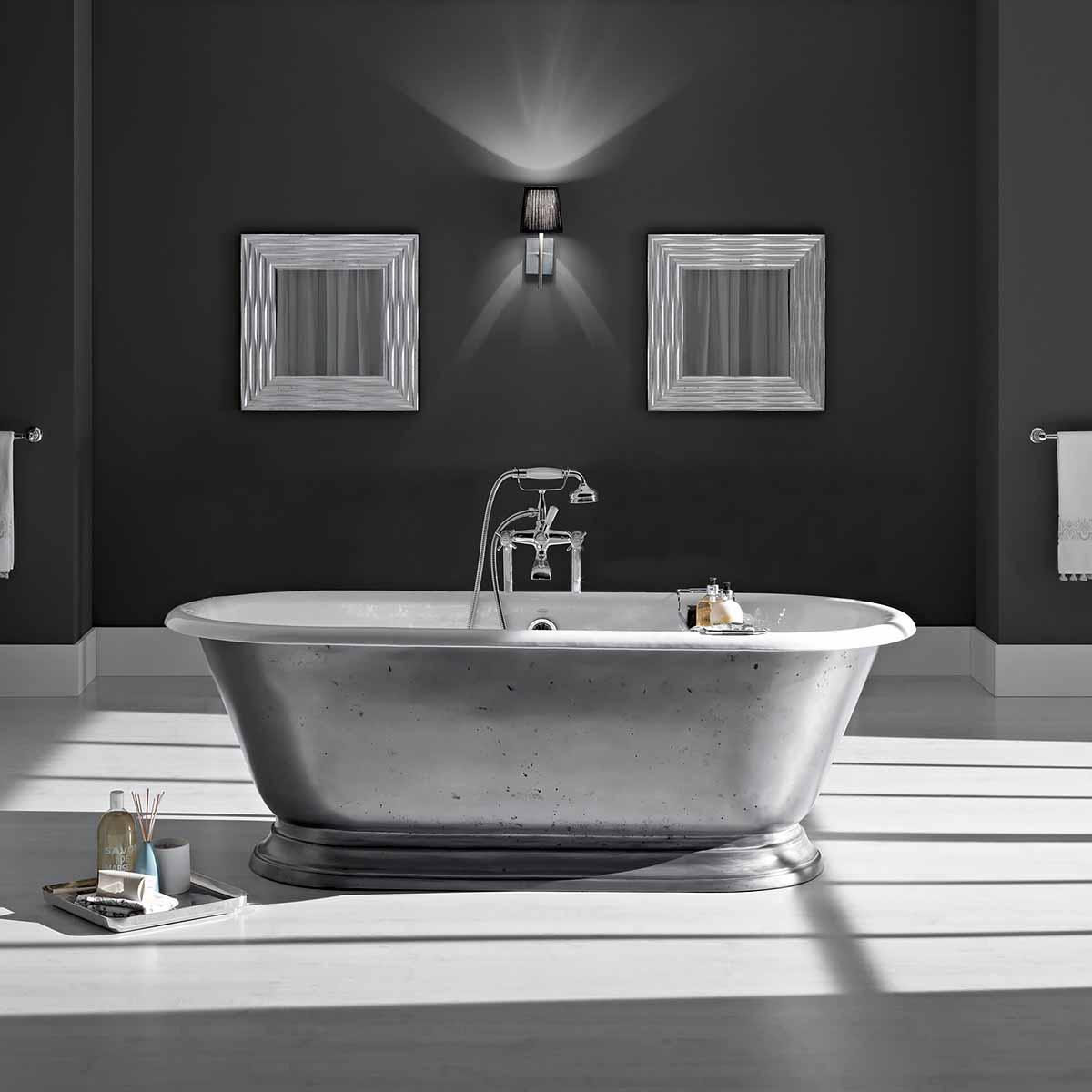 badewanne siena gusseisen von replicata innenseite wei emailliert replikate. Black Bedroom Furniture Sets. Home Design Ideas