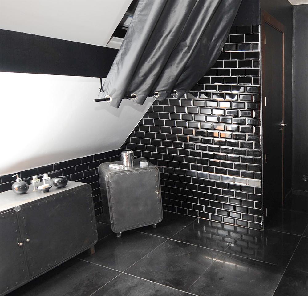 Badezimmer : metallic fliesen badezimmer metallic fliesen ...