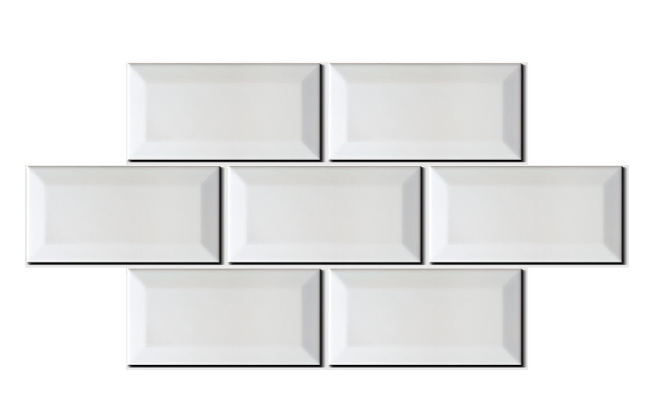 wandfliese metro farbe wei matt von replicata 7 replikate. Black Bedroom Furniture Sets. Home Design Ideas