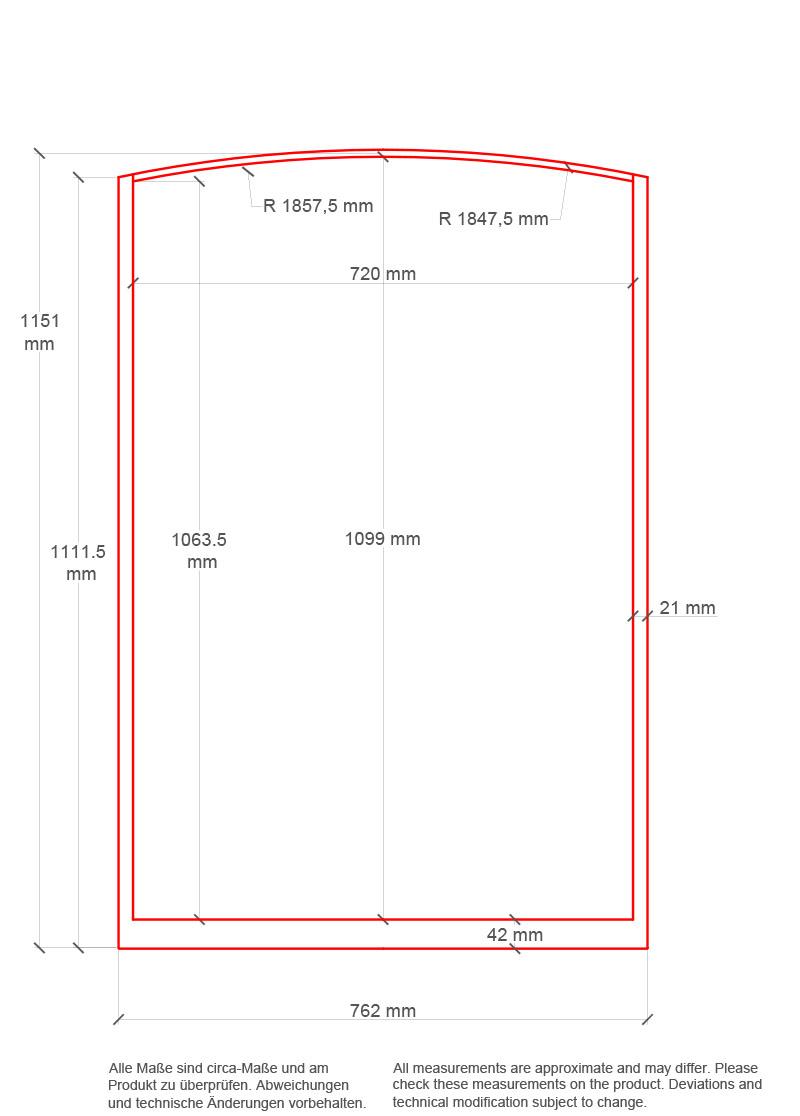 dachfenster eisen oben gebogen sprossenteilung vertikal von replicata fensterfl che 72 x. Black Bedroom Furniture Sets. Home Design Ideas
