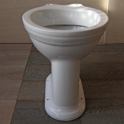 Top Toilette CARLTON, WC-Becken ohne Spülkasten u. Spülrohr« von XJ94
