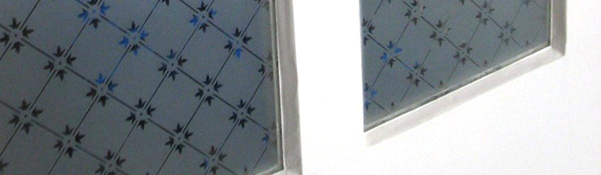 Großartig Glas für Türen und Fenster von Replicata - Formschöne  CE86
