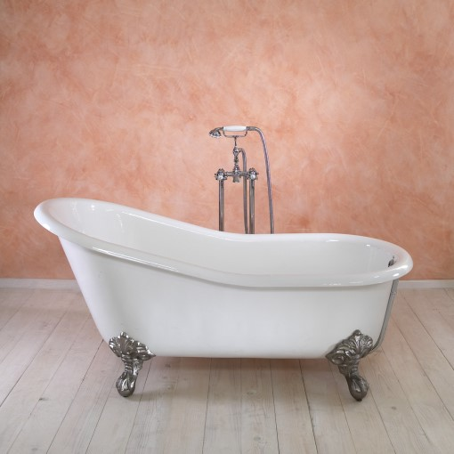 badewanne slipper i gusseisen« von replicata - innenseite: weiß, Hause ideen