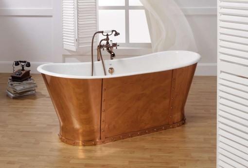 badewanne eiffel gusseisen« von replicata - innenseite weiß, Hause ideen