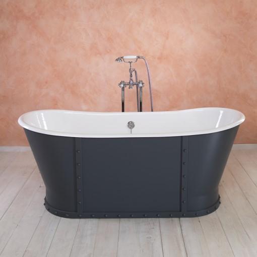 badewanne eiffel gusseisen von replicata innenseite wei emailliert replikate. Black Bedroom Furniture Sets. Home Design Ideas