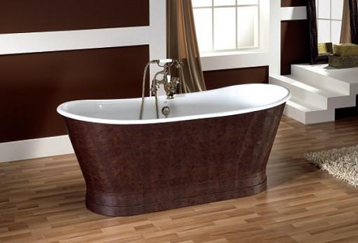 badewanne epoque gusseisen von replicata innenseite wei emailliert replikate. Black Bedroom Furniture Sets. Home Design Ideas