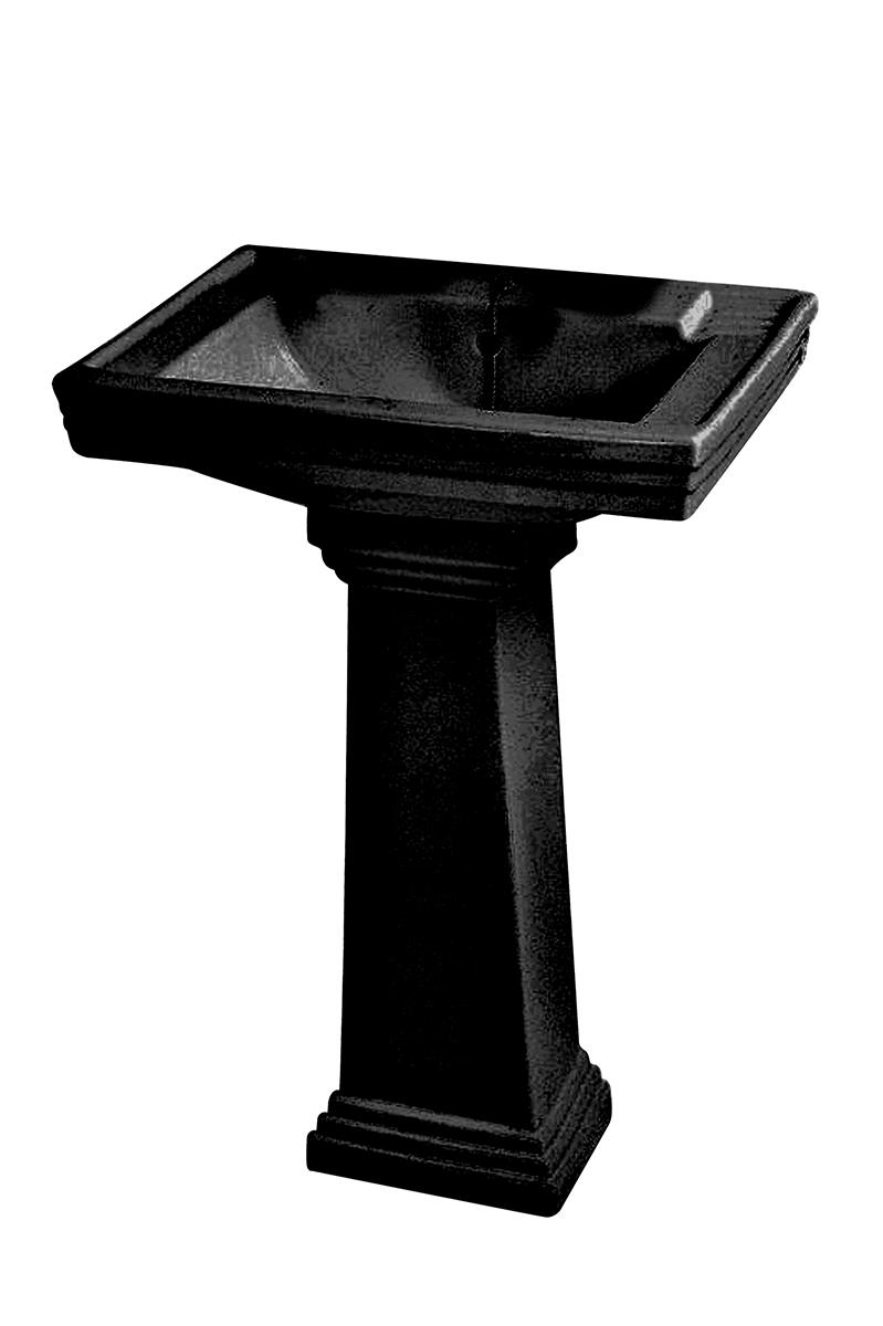 waschtisch ascott mit stands ule von replicata wei oder schwarz erh ltlich replikate. Black Bedroom Furniture Sets. Home Design Ideas