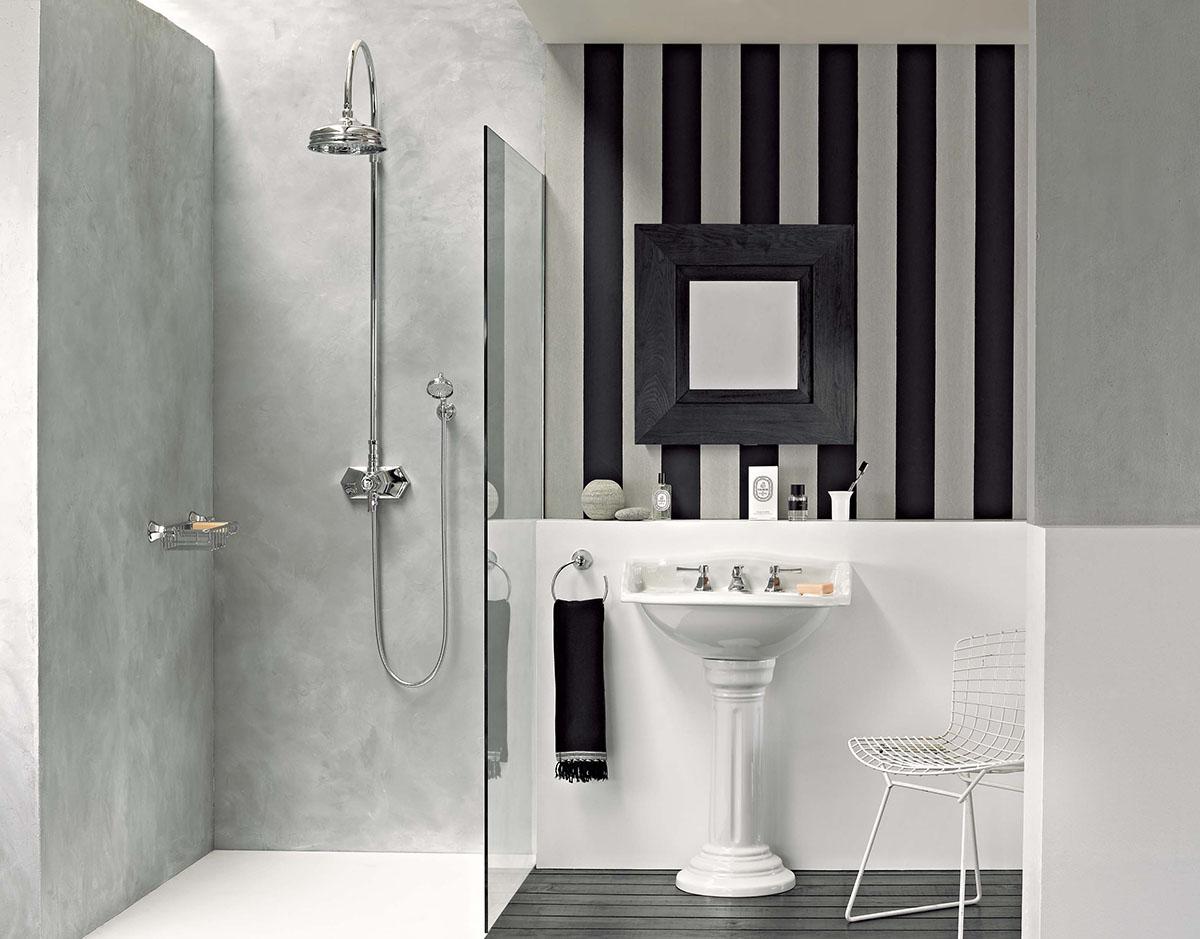 waschtisch victoria mit stands ule von replicata beckenform rechteckig replikate. Black Bedroom Furniture Sets. Home Design Ideas