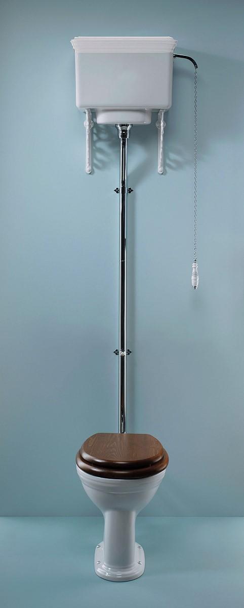 Unterschiedlich Toilette CARLTON mit Spülkasten hochhängend« von Replicata - im  PV28