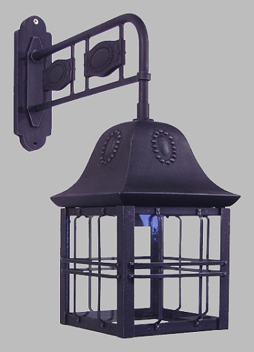 Au enleuchte jugendstil mit ausleger von replicata for Lampen replikate