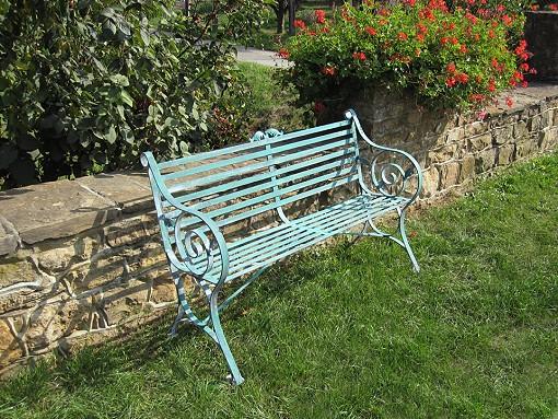Gartenbank Stonehenge 2 Sitzer« von Replicata - Eisen verzinkt ...