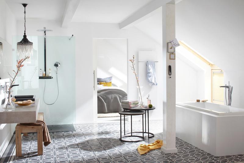 terrazzo platte ellipsenornament zweifarbig von replicata schwarz grau replikate. Black Bedroom Furniture Sets. Home Design Ideas