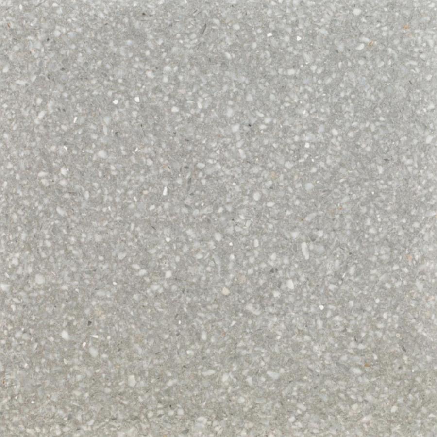 Terrazzo bodenfliese serie graniglie hellgrau« von