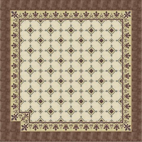zementbodenfliese geometrisch riffelplatte von replicata. Black Bedroom Furniture Sets. Home Design Ideas