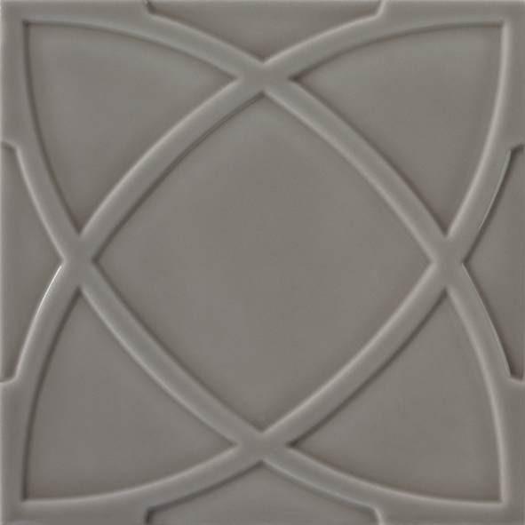Ornamentfliese VINTAGE Farbe grau-beige« von Replicata - 20 x 20 ...