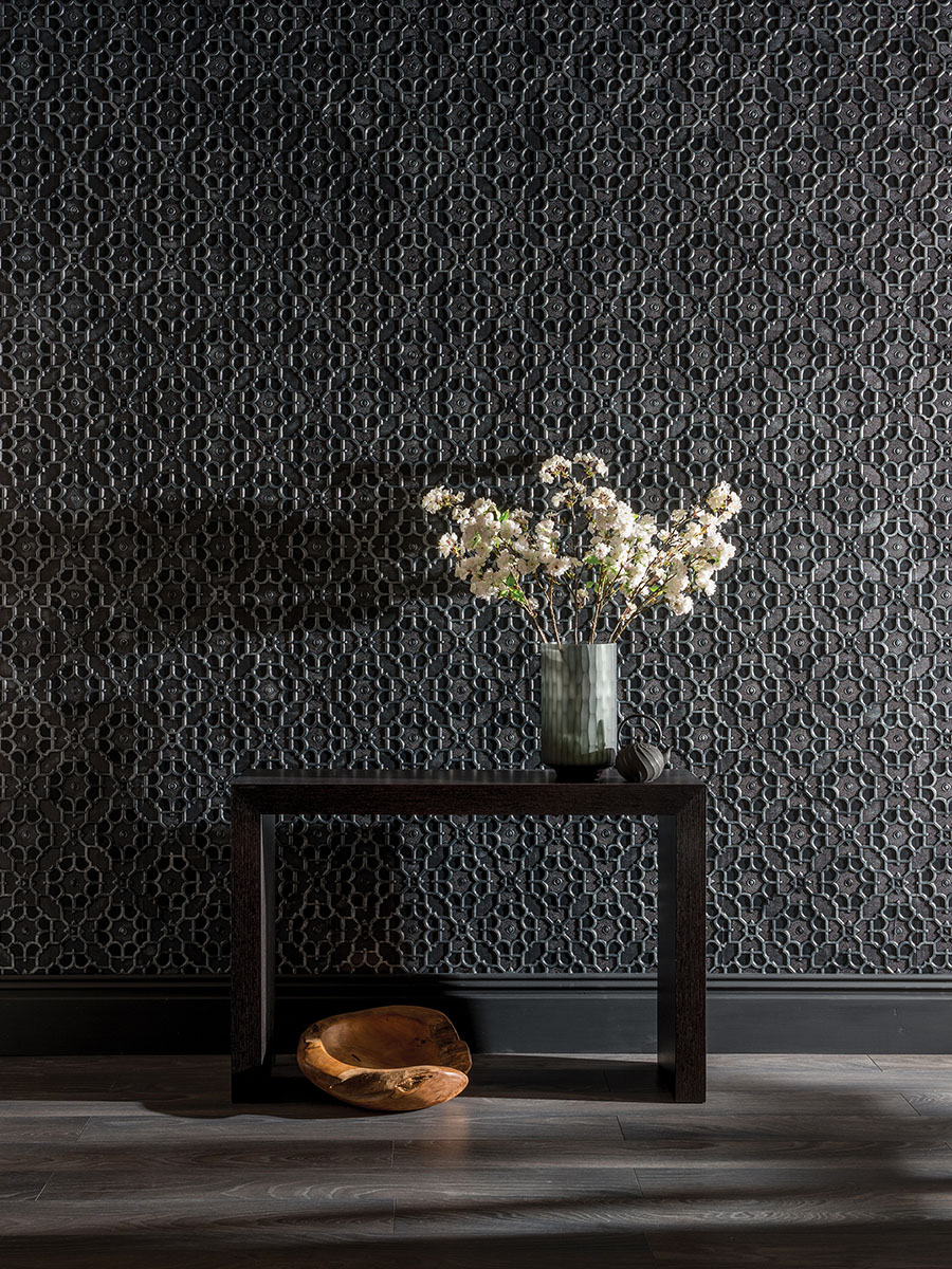 lincrusta tapete elizabeth von replicata l nge 10 m. Black Bedroom Furniture Sets. Home Design Ideas